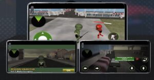 Analysis of the free game for Android Stickman Turtle Hero