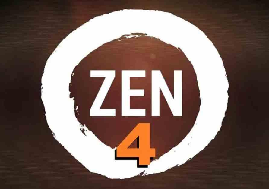 Zen 4 Fake Logo