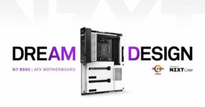 NZXT N7 B550, the manufacturer's first motherboard for AMD Ryzen