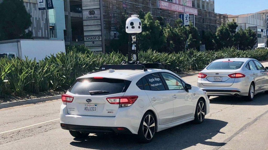 Car Apple Maps
