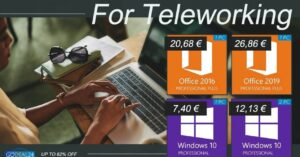 Buy Office 2019 cheap at GoDeal24 for telecommuting