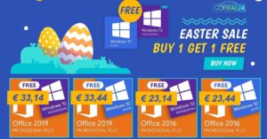 Buy Office and get Windows 10 Pro for free at…