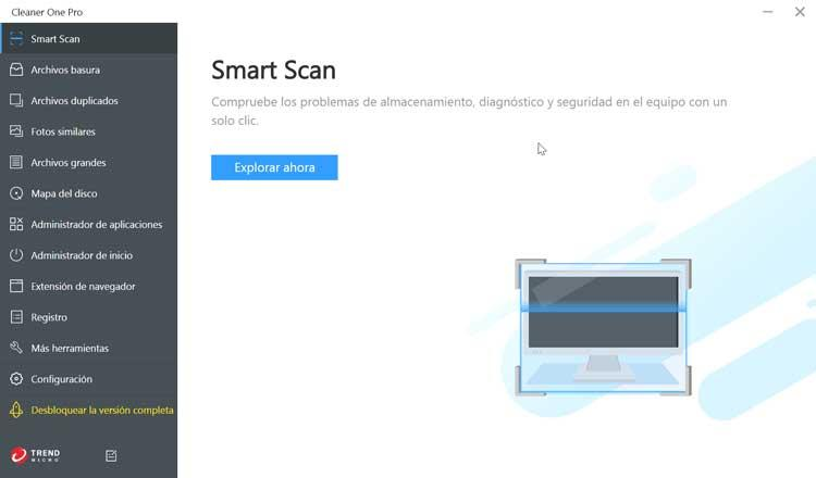 Cleaner One Pro smart Scan