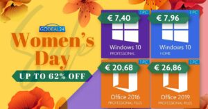 Discount on Windows and Office licenses
