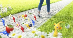 Nintendo and Niantic announce the launch of Pikmin