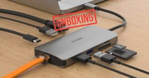Unboxing of this complete USB Type-C hub