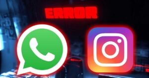 WhatsApp and Instagram, down and not working in Spain