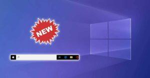 Windows 10 removes the Explorer.exe taskbar for better stability