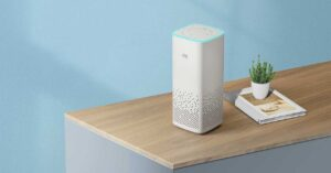 new smart speaker with voice assistant