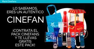 Promotion Pack Cinefans de Vodafone April 2021 with gifts