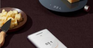 Xiaomi presents a bluetooth scale for the kitchen