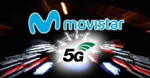 Maximum speed of Movistar's 5G mobile network in 2021