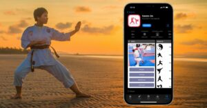 IPhone apps to train karate or start practicing it