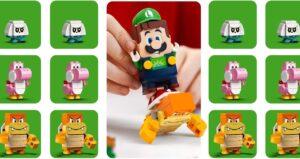 Lego Super Mario Luigi's starter set leaks in pictures