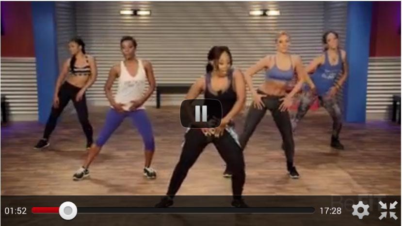 reggaeton fitness dance