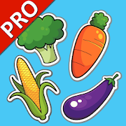 Learn Vegetables PRO (Learning English)