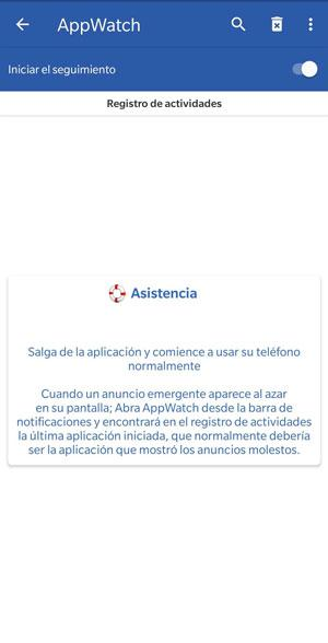 appwatch detect advertising
