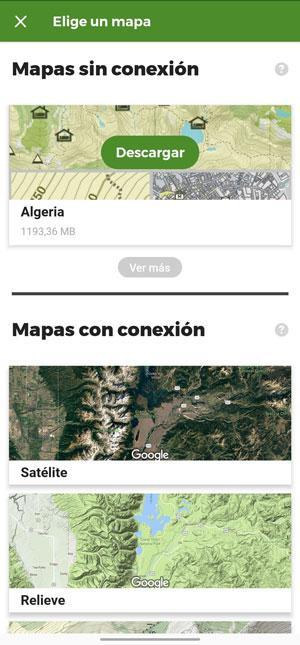 wikiloc offline maps