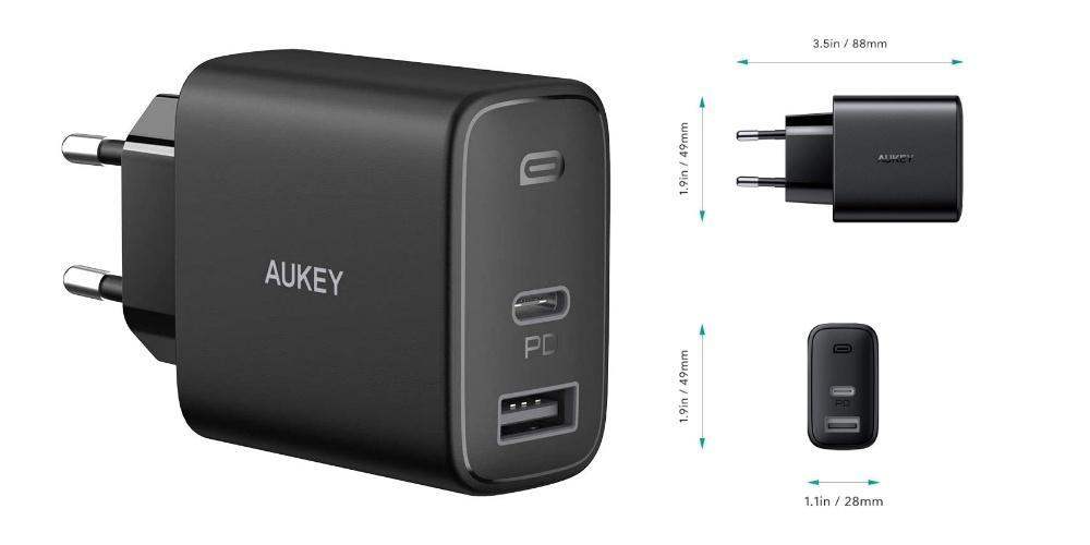 Aukey power adapter