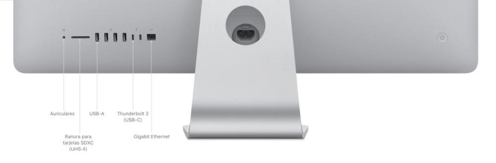 27 inch imac ports