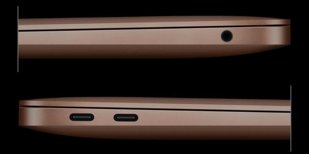 macbook air m1 ports