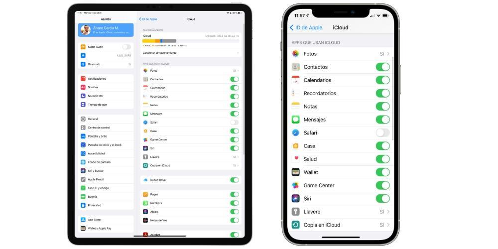 apps sync icloud iphone ipad