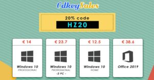 Great deals on Windows 10 and Microsoft Office licenses