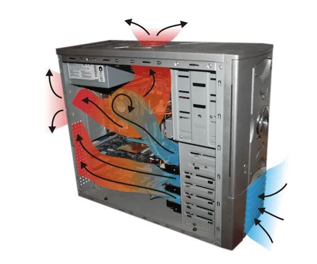 Airflow generates noise on PC