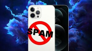 How to prevent spam from entering the iPhone