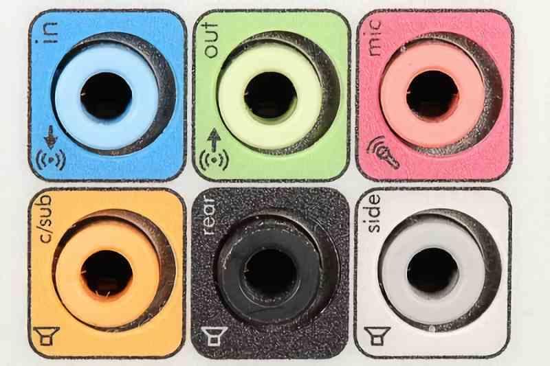 Audio minijack ports