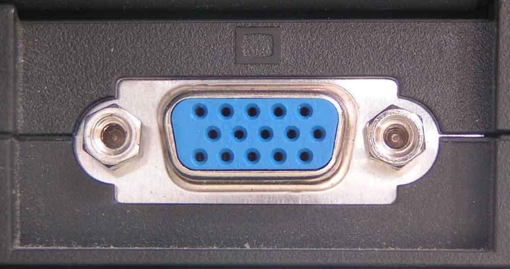 VGA Input and Output Ports