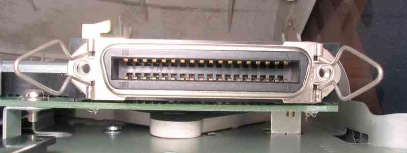 Centronics Inlet Outlet Ports