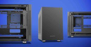 NOX Hummer Vault, rectangular ITX enclosure up to 7 fans