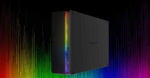Seagate FireCuda, USB 3.2 External Drives with RGB Lighting