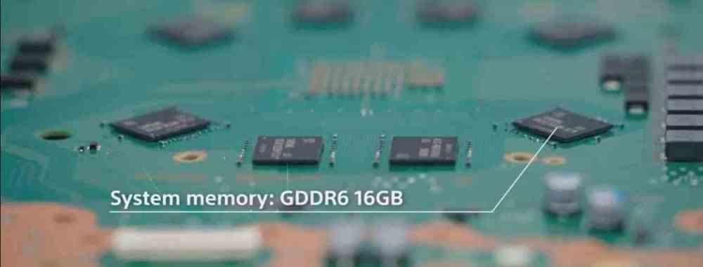 PS5 GDDR6 Board