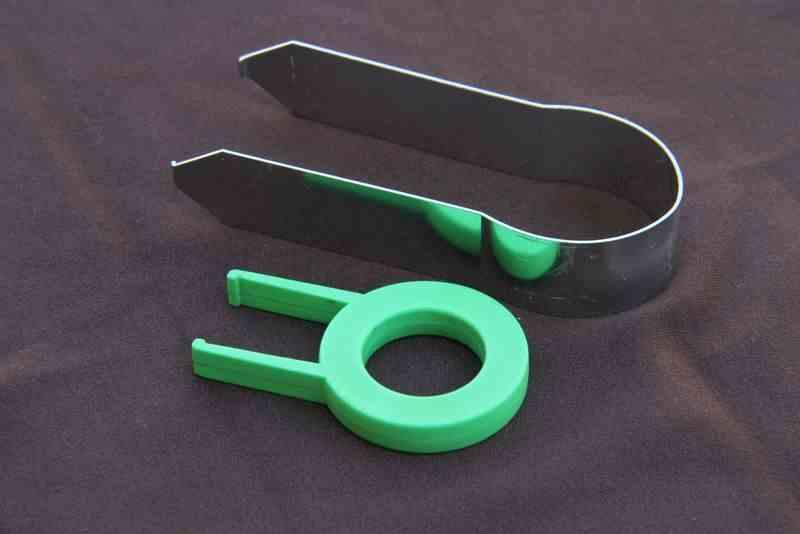 Key Puller Bent Steel