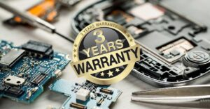 3 years warranty in Spain and 10 years for parts:…