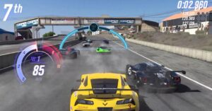 A racing game that is not a simulator
