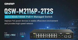 Managed switch and Multigigabit PoE ports