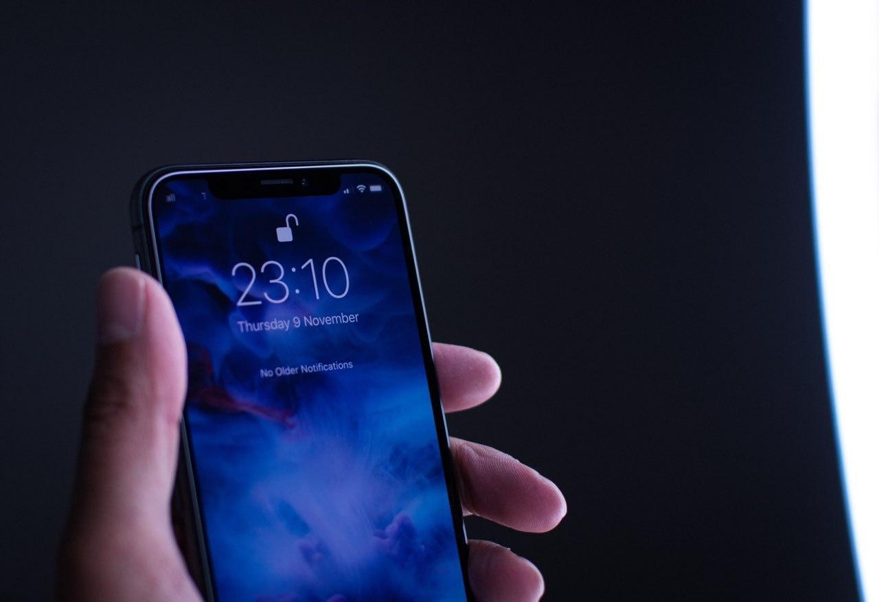 iPhone Face ID Unlocked Apple