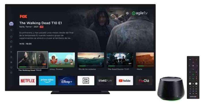 Agile premium TV