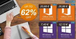 Buy Windows 10 Pro for 7.4 euros in the GoDeal24…