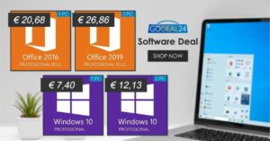 Buy cheap Windows 10 Pro for 7.4 euros at GoDeal24