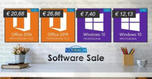 Buy cheap Windows and Office with these offers at GoDeal24