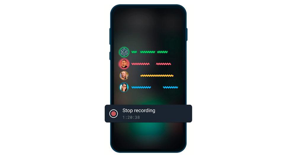 Telegram voice chats