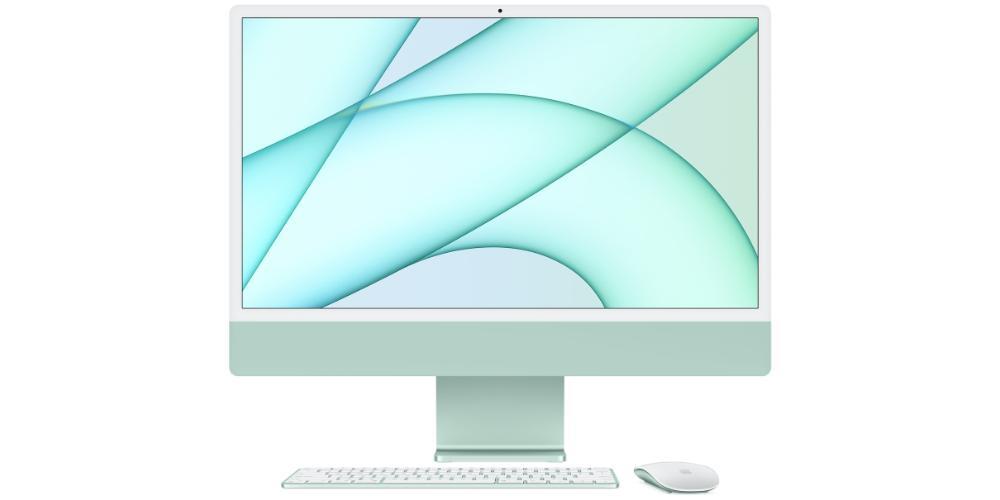 iMac 24 inch 2021 green