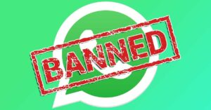 Reasons why WhatsApp can ban and close an account