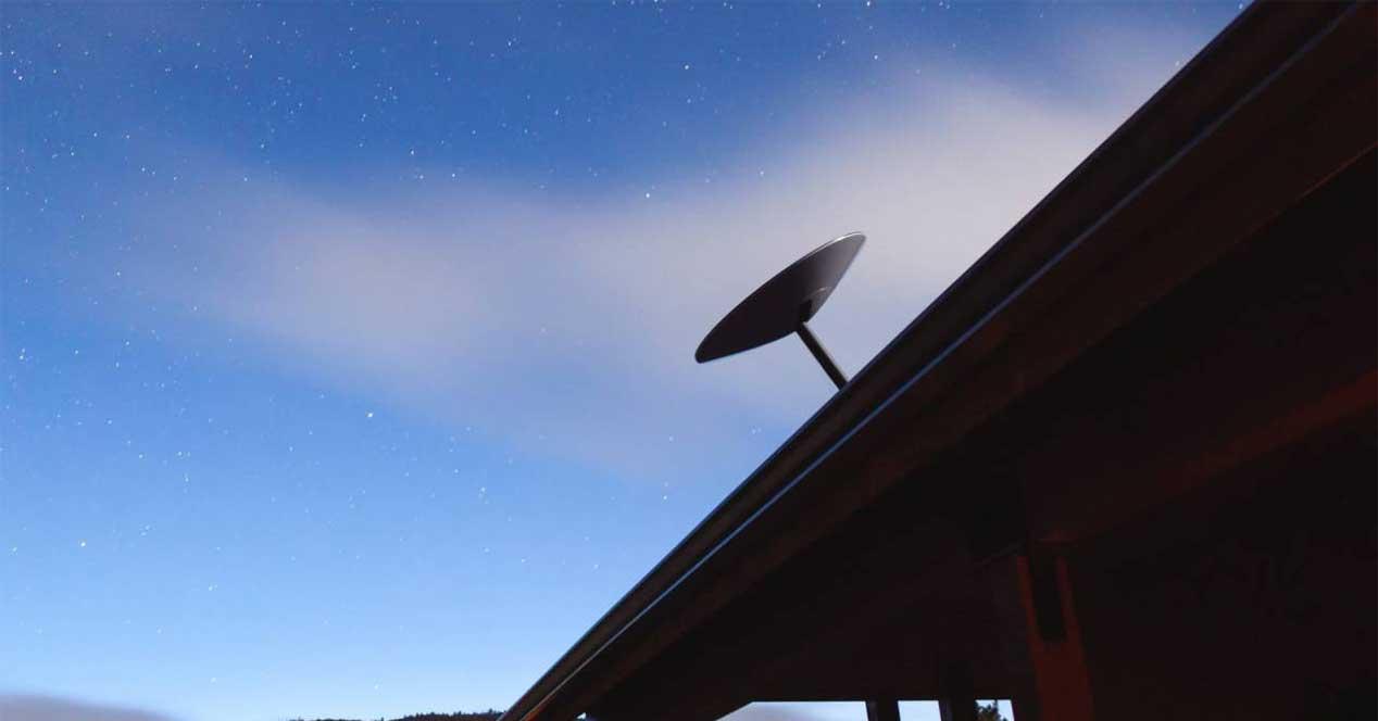 starlink satellite antenna