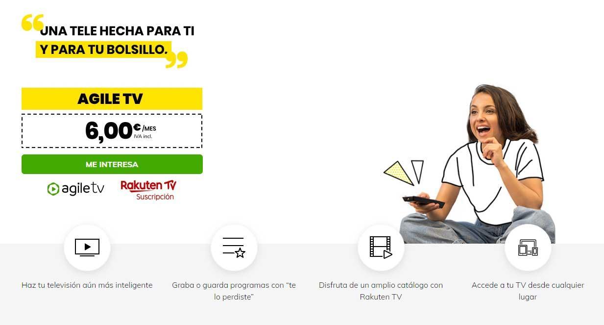 masmovil agile tv