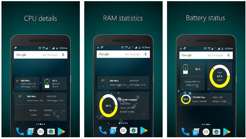 free cpu ram apps widgets week 20